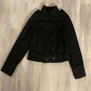 Buffalo David Bitton Medium Black Wool Coat